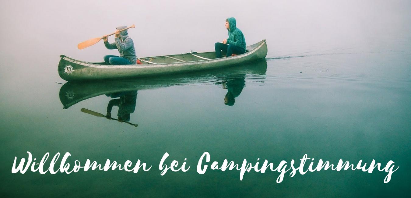 Campingstimmung Banner