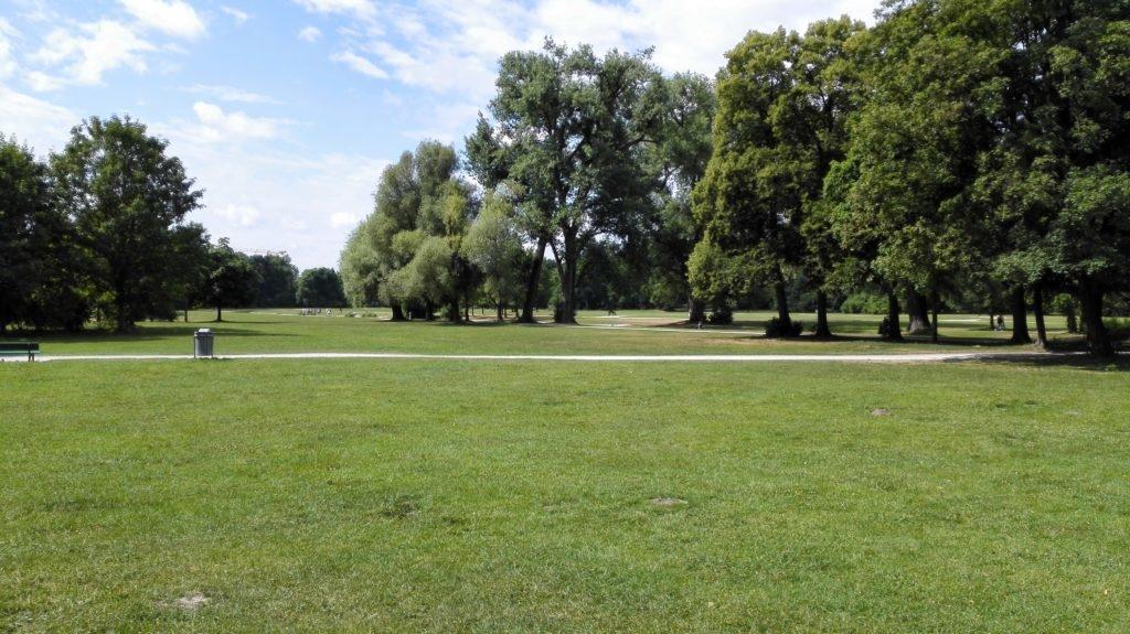Englischer Garten München Landschaft